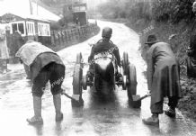 "Bolster Special. Richard Bolster. Shelsley Walsh Hillclimb 1936 ""Chocks Away!"""